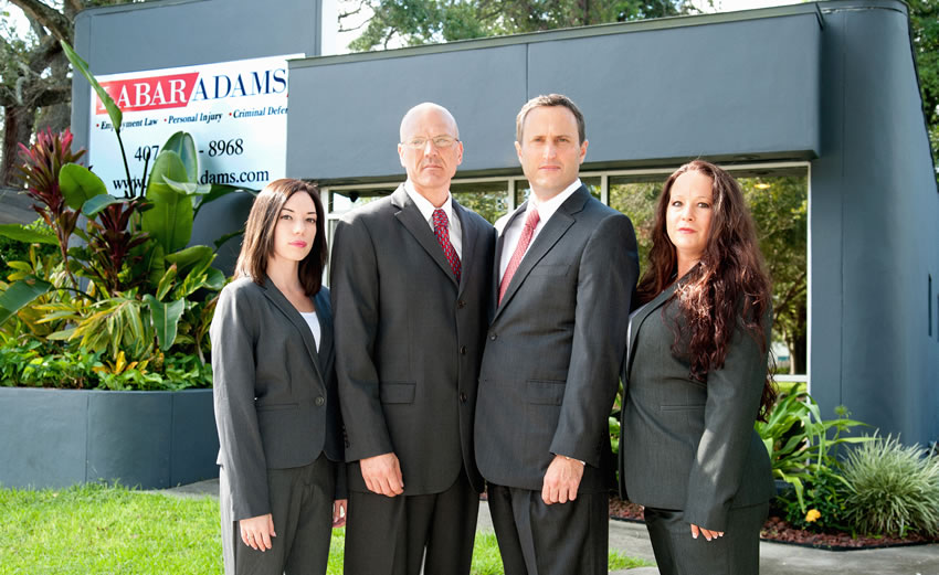Law Firm of LaBar Adams in Orlando - Privacy Policy